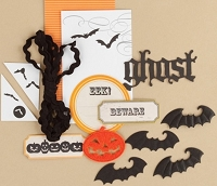 Making Memories - Vintage Findings Collection - Mini Kit Halloween