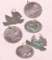 Making Memories - Pitter Patter Collection - Sophie Metal Charms