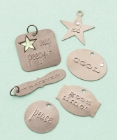 Making Memories - Embossed Charms - Teen