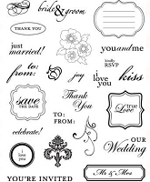 Making Memories - Wedding Collection - Clear Stamp Set