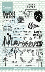 Marianne Design - Clear Stamp - Meet-Share-Create Craft Dates 1