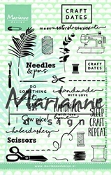 Marianne Design - Clear Stamp - Meet-Share-Create Craft Dates 2