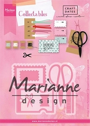 Marianne Design - Collectables Die - Eline's Craft Dates