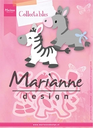 Marianne Design - Collectables Die - Zebra or Donkey