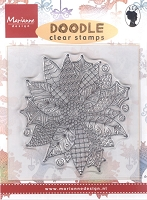 Marianne Design - Clear Stamp - Doodle Poinsettia