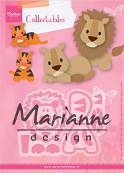 Marianne Design - Collectables Die - Eline's Lion/Tiger