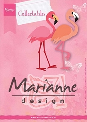Marianne Design - Collectables Die - Eline's Flamingo