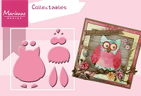 Marianne - Collectables Die - (12 Pieces) - Owl