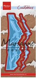 Marianne Design - Creatables Die - Horizon Snowy Mountains