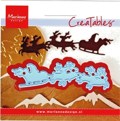 Marianne Design - Creatables Die - Santa Is Coming