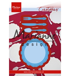 Marianne Design - Creatables Die - Dinner Set