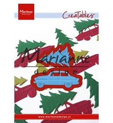 Marianne Design - Creatables Die - Driving Home for Christmas