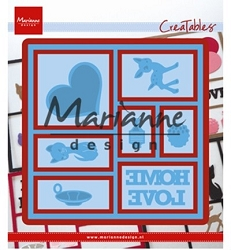 Marianne Design - Creatables Die - Layout Set