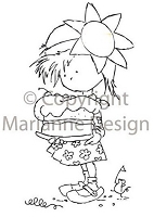 Marianne Design - Clear Stamp - Don & Daisy - Sweet Daisy