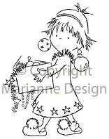 Marianne Design - Clear Stamp - Don & Daisy - Xmas Eve