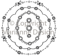 Marianne Design - Clear Stamp - Don & Daisy - Circle Decorations