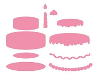 Marianne Collectables - Die - Cake Set