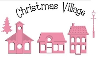 Marianne Collectables Die & Stamp set - Mini Xmas Village