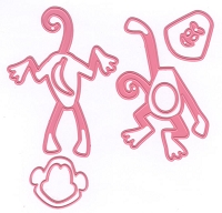 Marianne Design - Collectables Die - Eline's Monkey