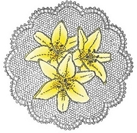 Marianne Design - Cling Stamp - Lilies