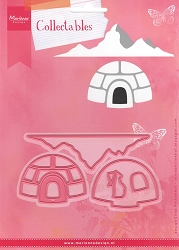 Marianne Design - Collectables Die - Eline's Igloo and Mountain