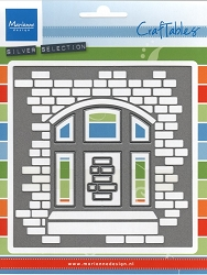 Marianne Design - Craftables Die - Card with a View (Window on brick wall)