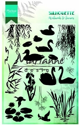 Marianne Design - Clear Stamp - Silhouette Wetlands