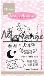 Marianne Design - Clear Stamp - Eline's Cute Animals Sheep