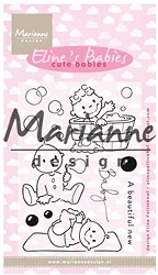 Marianne Design - Clear Stamp - Eline's Cute Babies
