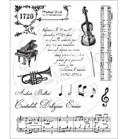 Marianne Design - Clear Stamps - Music