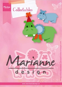 Marianne Design - Collectables Die - Eline's Happy Hippo