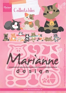 Marianne Design - Collectables Die - Eline's Kitten :)
