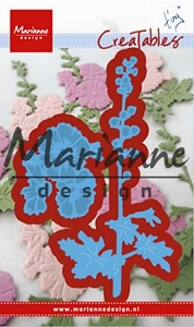 Marianne Design - Creatables Die - Tiny's Hollyhocks