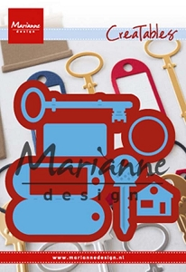 Marianne Design - Creatables Die - Key Ring and Keys