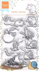 Marianne Design - Clear Stamp - Hetty's Garden Animals