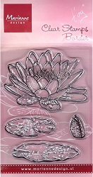 Marianne Design - Clear Stamp - Tiny's Waterlily