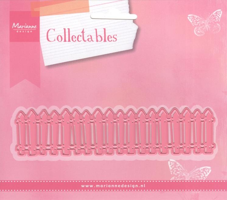 Pink Marianne Design Collectables White Picket Fence Die