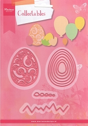 Marianne Design - Collectables Die - Easter Eggs/Balloons