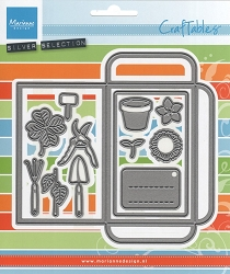 Marianne Design - Craftables Die - Seed Packet and Garden Tools