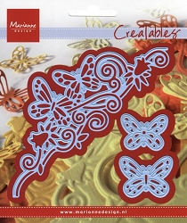 Marianne Design - Creatables Die - Butterfly Border