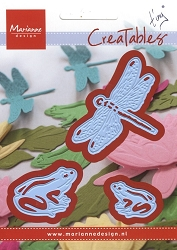 Marianne Design - Creatables Die - Tiny's Frogs and Dragonflies