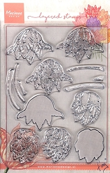Marianne Design - Clear Stamp - Tiny's Layered Tulips
