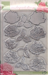Marianne Design - Clear Stamp - Tiny's Layered Roses