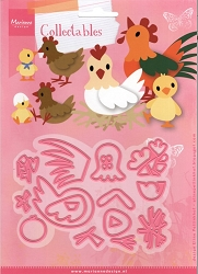 Marianne Design - Collectables Die - Eline's Chicken Family