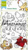 Marianne Design - Clear Stamp - Hetty's Chickens