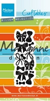 Marianne Design - Craftables Die - Punch Die Bows