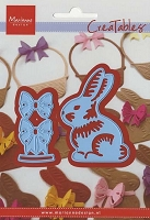 Marianne Design - Creatables Die - Easter Bunny with Bow