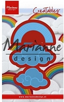 Marianne Design - Creatables Die - Rainbow & Clouds