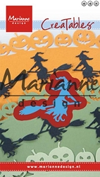 Marianne Design - Creatables Die - Witch on Broomstick :)