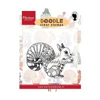 Marianne Design - Clear Stamp - Doodle Squirrel